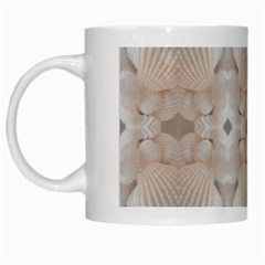 Seashells Summer Beach Love Romanticwedding  White Coffee Mug
