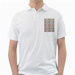 Seashells Summer Beach Love Romanticwedding  Men s Polo Shirt (white)