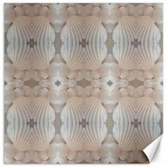 Seashells Summer Beach Love RomanticWedding  Canvas 20  x 20  (Unframed)
