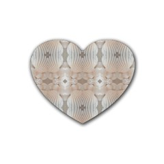 Seashells Summer Beach Love Romanticwedding  Drink Coasters (heart)
