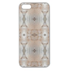 Seashells Summer Beach Love Romanticwedding  Apple Seamless Iphone 5 Case (clear)