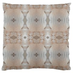 Seashells Summer Beach Love RomanticWedding  Large Flano Cushion Case (One Side)