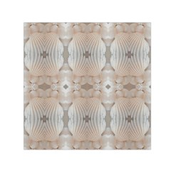Seashells Summer Beach Love RomanticWedding  Small Satin Scarf (Square)