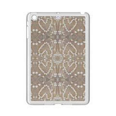 Love Hearts Beach Seashells Shells Sand  Apple Ipad Mini 2 Case (white)