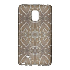 Love Hearts Beach Seashells Shells Sand  Samsung Galaxy Note Edge Hardshell Case