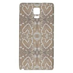 Love Hearts Beach Seashells Shells Sand  Samsung Note 4 Hardshell Back Case
