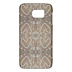 Love Hearts Beach Seashells Shells Sand  Samsung Galaxy S6 Hardshell Case