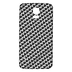 Hot Wife - Queen of Spades Motif Samsung Galaxy S5 Back Case (White)