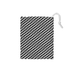Hot Wife - Queen of Spades Motif Drawstring Pouch (Small)