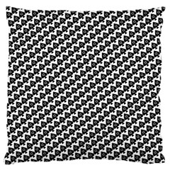 Hot Wife - Queen of Spades Motif Large Flano Cushion Case (Two Sides)