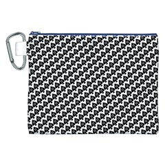 Hot Wife - Queen of Spades Motif Canvas Cosmetic Bag (XXL)