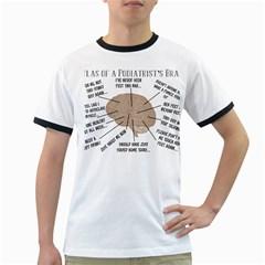Atlas Of A Podiatrist s Brain Men s Ringer T-shirt