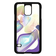 Abstract Samsung Galaxy S5 Case (black)