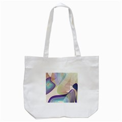 Abstract Tote Bag (white)
