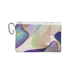 Abstract Canvas Cosmetic Bag (Small)