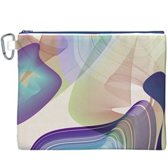 Abstract Canvas Cosmetic Bag (XXXL)