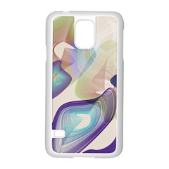 Abstract Samsung Galaxy S5 Case (White)