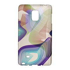 Abstract Samsung Galaxy Note Edge Hardshell Case
