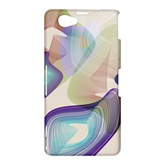 Abstract Sony Xperia Z1 Compact Hardshell Case