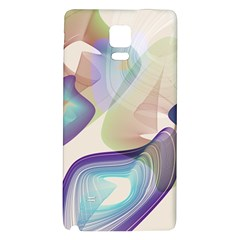 Abstract Samsung Note 4 Hardshell Back Case