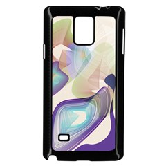Abstract Samsung Galaxy Note 4 Case (Black)