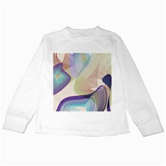Abstract Kids Long Sleeve T Shirt