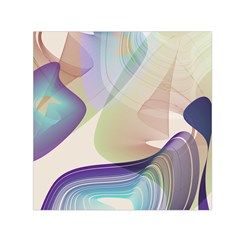 Abstract Small Satin Scarf (Square)