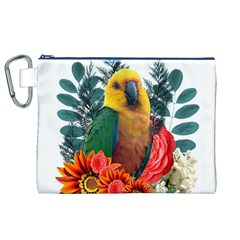 Nature Beauty Canvas Cosmetic Bag (XL)