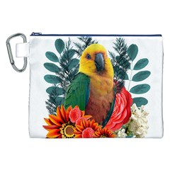 Nature Beauty Canvas Cosmetic Bag (XXL)