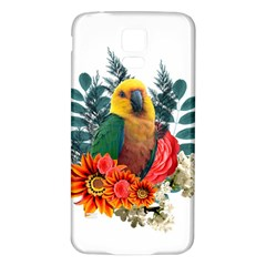 Parrot Samsung Galaxy S5 Back Case (white)