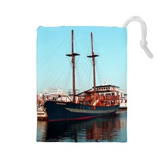 Travel Drawstring Pouch (Large)