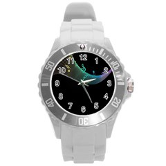 Musical Wave Plastic Sport Watch (large)