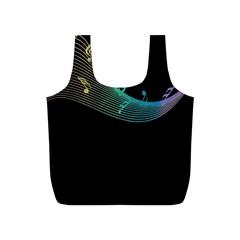 Musical Wave Reusable Bag (s)