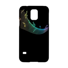 Musical Wave Samsung Galaxy S5 Hardshell Case