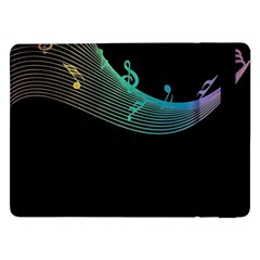 Musical Wave Samsung Galaxy Tab Pro 12.2  Flip Case