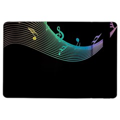 Musical Wave Apple Ipad Air 2 Flip Case