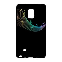 Musical Wave Samsung Galaxy Note Edge Hardshell Case