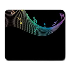 Musical Wave Large Mouse Pad (rectangle)