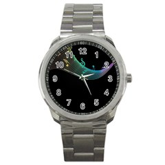 Musical Wave Sport Metal Watch
