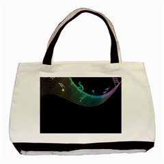 Musical Wave Classic Tote Bag