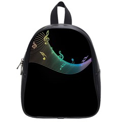 Musical Wave School Bag (small)