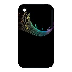Musical Wave Apple Iphone 3g/3gs Hardshell Case (pc+silicone)