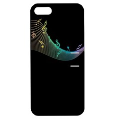Musical Wave Apple Iphone 5 Hardshell Case With Stand