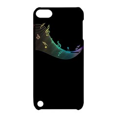 Musical Wave Apple Ipod Touch 5 Hardshell Case With Stand