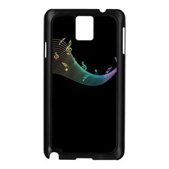 Musical Wave Samsung Galaxy Note 3 N9005 Case (black)