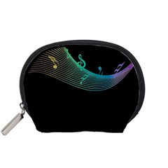 Musical Wave Accessory Pouch (Small)