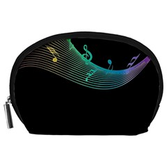 Musical Wave Accessory Pouch (Large)