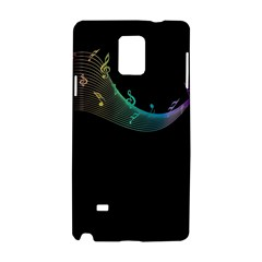 Musical Wave Samsung Galaxy Note 4 Hardshell Case