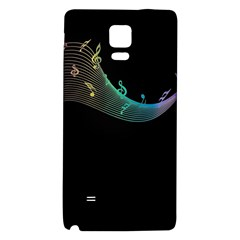 Musical Wave Samsung Note 4 Hardshell Back Case