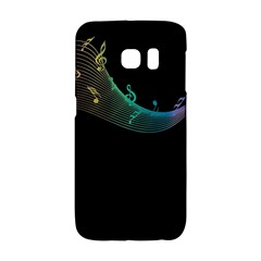 Musical Wave Samsung Galaxy S6 Edge Hardshell Case